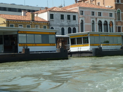 Piazzale Roma Vaporetto Water Bus Stops