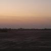 Baramati Airport Ramp Evening View