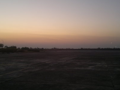 Baramati  Airport  Ramp  Evening View