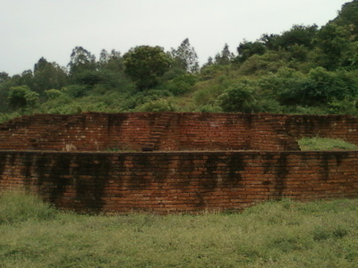 Buddhist Stupa At Kotturu