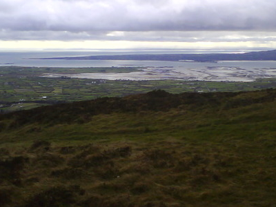 The Mouth Of Carlingford Lough From Knockree