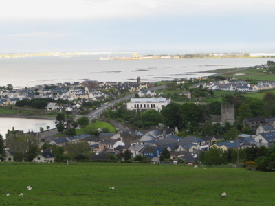 Carlingford Town From Above
