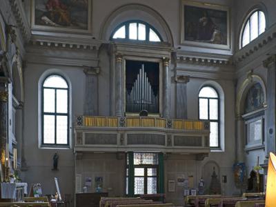 Interior Towards Entrance With Organ
