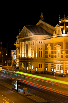 The Concertgebouw At Night