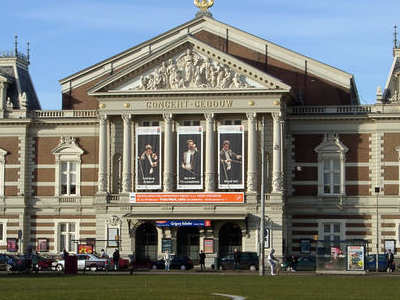 The Concertgebouw In The Museumkwartier
