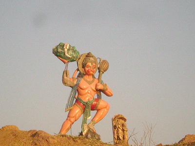 Rajhara Dam, Hanumanji