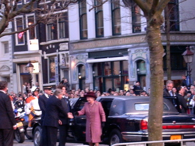 Visit Of Queen Elizabeth II To The English Reformed Church