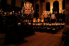 Interior, Lit Up With Candles