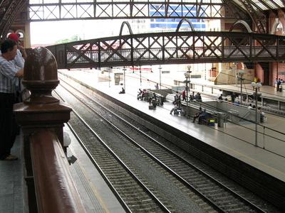 Luz Station Inside