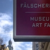 Museum Of Art Fakes. Background Left: The Hundertwasserhaus