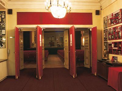 Foyer Of Vienna's Englisch Theatre