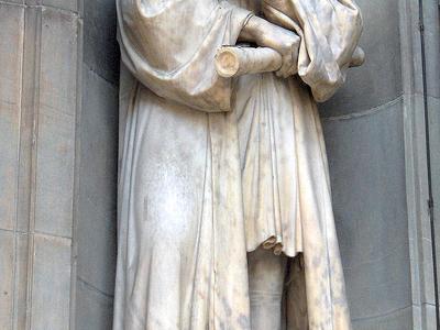 Statue Of Galileo Galilei
