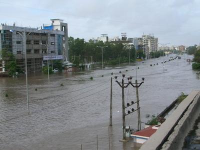 Gaurav  Path Under Water