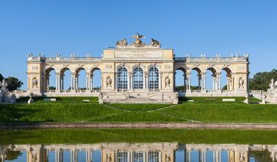 The Gloriette In The Schönbrunn Palace Garden