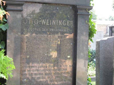 Grave Of Otto Weininger