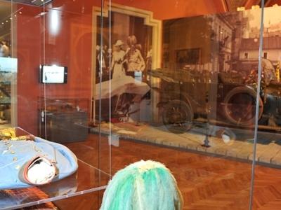 Sarajevo Room With The Fateful Car
