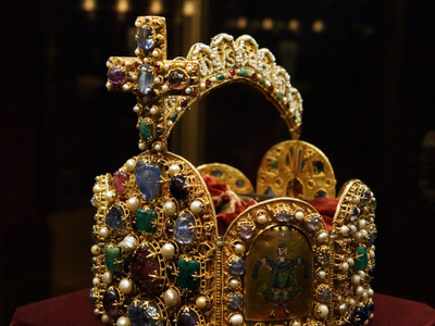 Imperial Crown Of The Holy Roman Empire