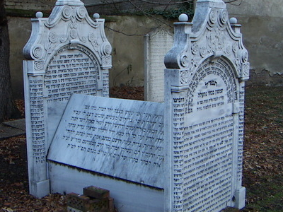 Jewish Cemetery In Roßau