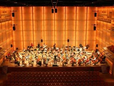 Interior Of Muziekgebouw Aan 't IJ