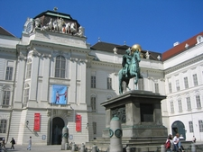 Austrian National Library Old Entrance