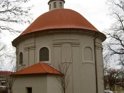 Church Of Saint Roch From Olšansky Cemetery