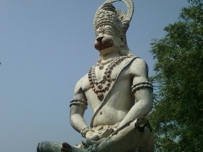 Lord  Hanuman Statue  Tagarapuvalasa  Visakhapatnam