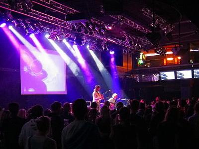 DVA, A Czech Band Onstage At The Lucerna Music Bar