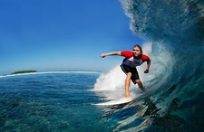 Maldives Surfing