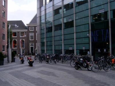 Entrance To Markenplein From Valkenburgerstraat