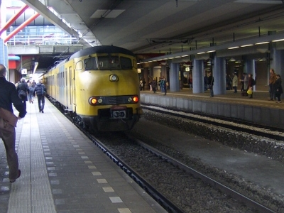 A Mat '64 At The Lower Level Platforms