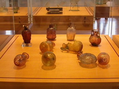 Roman Glass Exhibit At The Glass Museum