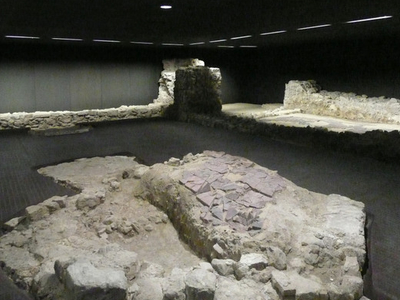 Excavated Remains Of The Synagoge