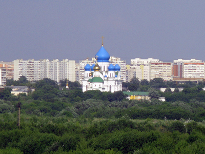 Another View Of Nikolo-Perervinsky Monastery