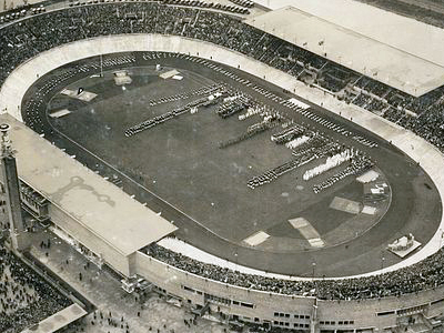 The Olympic Stadium During The Olympic Games Of 1928