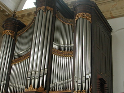 The Organ Of The Oosterkerk