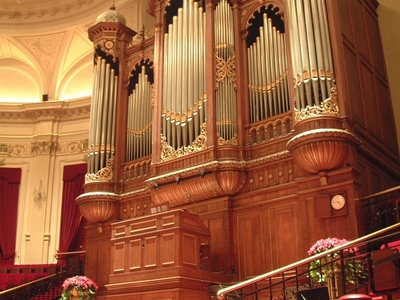 The Organ In The Main Hall