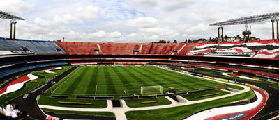 Panoramic View Of The Stadium