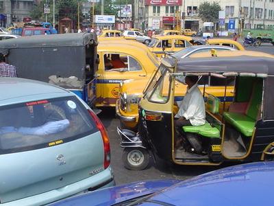Park  Circus  7 Point  Crossing Kolkata