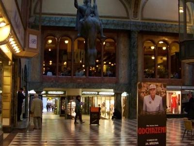 Inside The Lucerna Palace Galleria