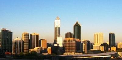 Perth Cityscape Daytime