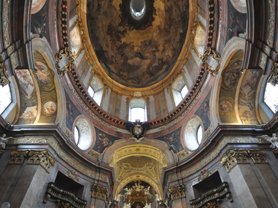 View Of The Dome And Altar