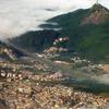 Pico Do Jaraguá As Seen From An Aircraft