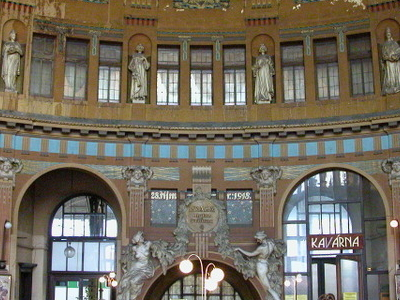 The Former Art Nouveau Booking Hall