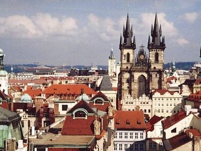 View Of Prague From Clementinum