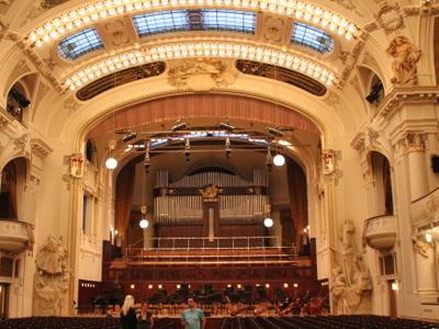 Smetana Hall In Municipal House