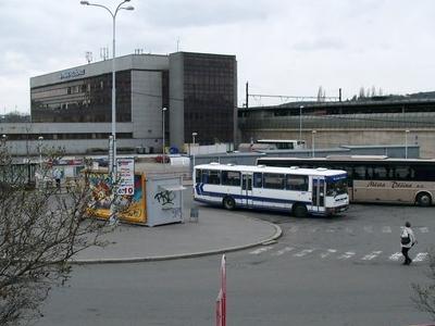 Praha-Holešovice Railway Station