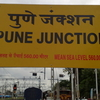 Pune Junction Stationboard