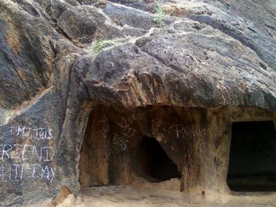 Rock Cut Caves At  Dhanadibbalu  0 1