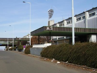 Outside Of Stadium From Diskařská Street