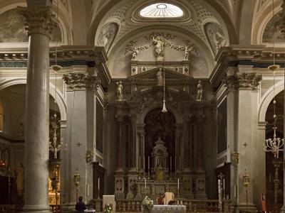 San Cassiano Interior